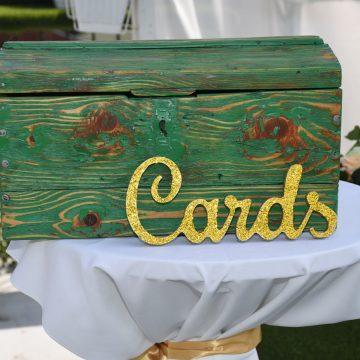 Kutija sa pozivnicama za vencanje i rodjendan